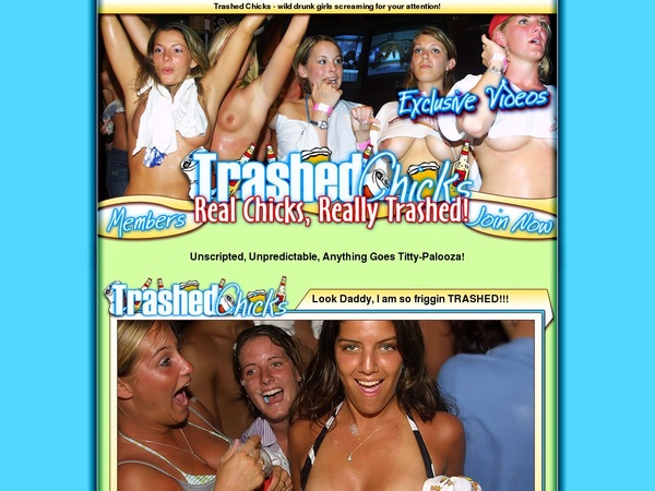 Trashedchicks.com Password And Account