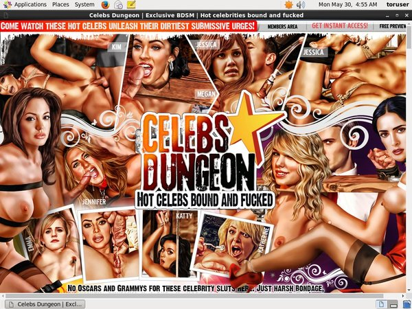 Celebs Dungeon Free Ones