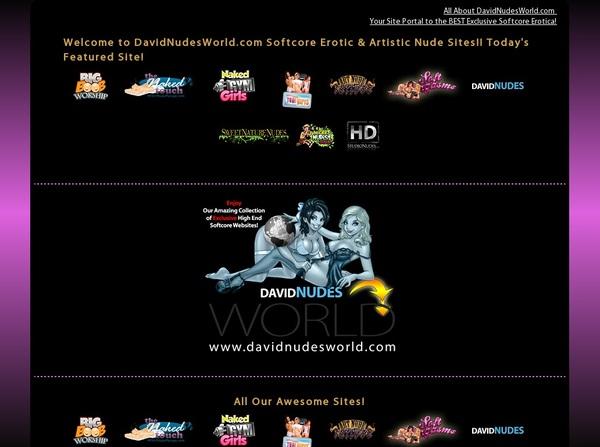 Davidnudesworld.com Parola D'ordine