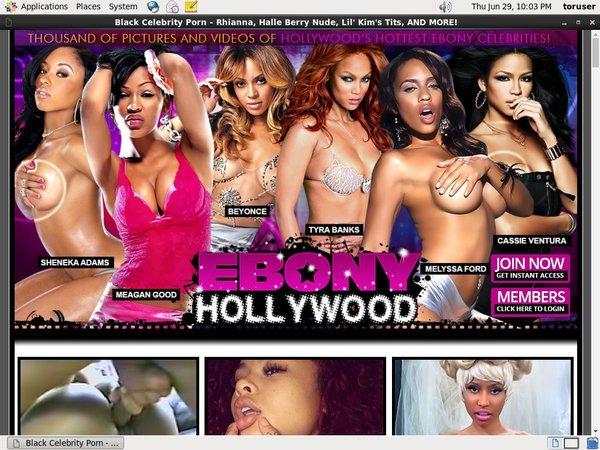 Ebony Hollywood Reduced Price