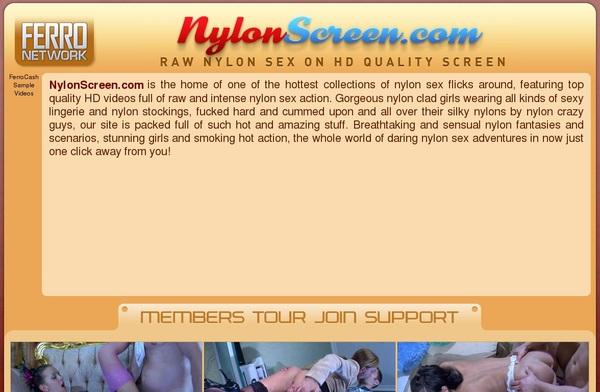 Free Nylon Screen User And Pass