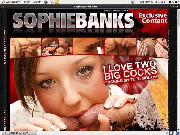 Sophie Banks Member Passwords
