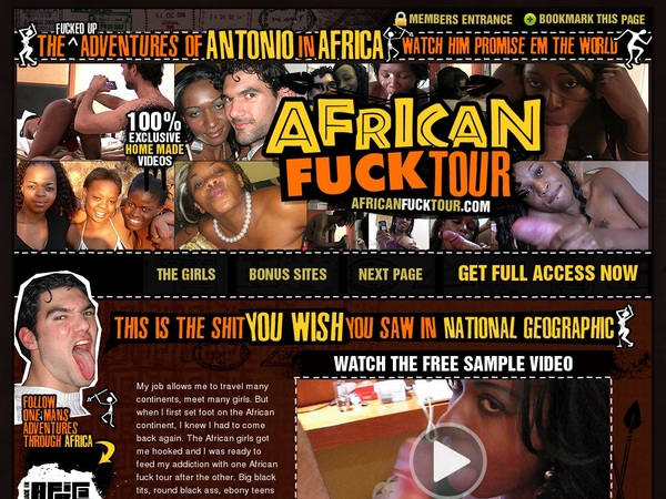 African Fuck Tour Become A Member