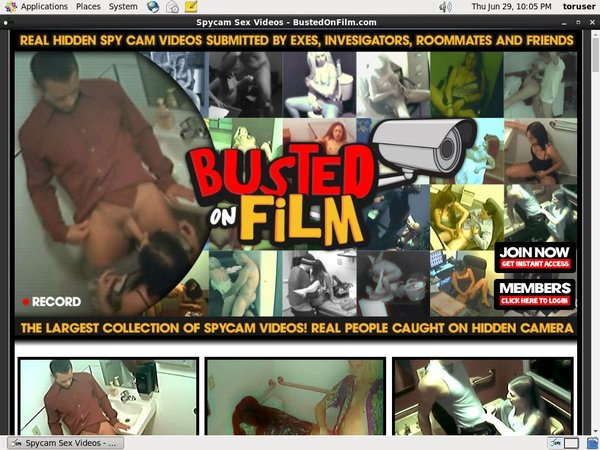 Busted On Film With SOFORT