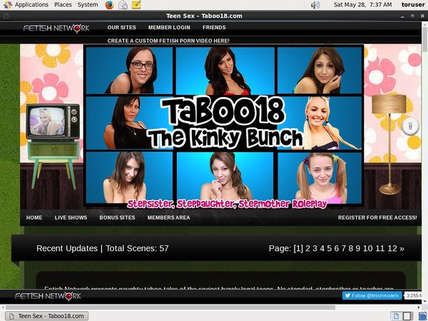 How To Get Into Taboo18.com