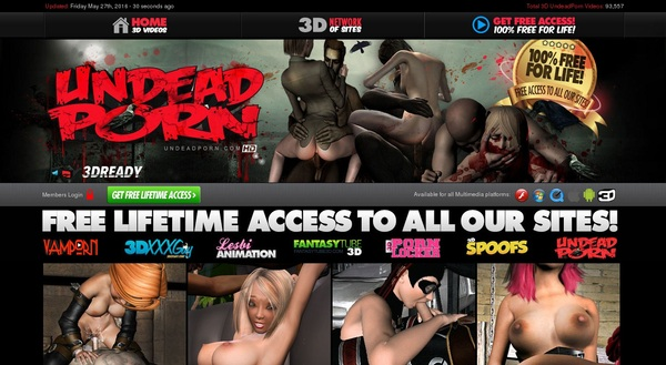 Sign Up For Undead Porn