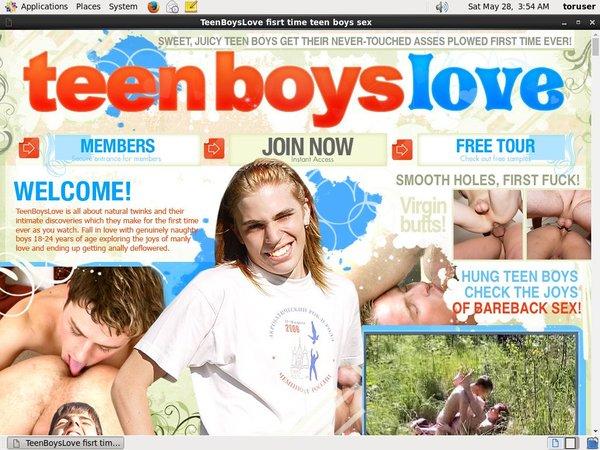 Teen Boys Love Hard