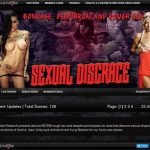 Sexual Disgrace Renew Membership
