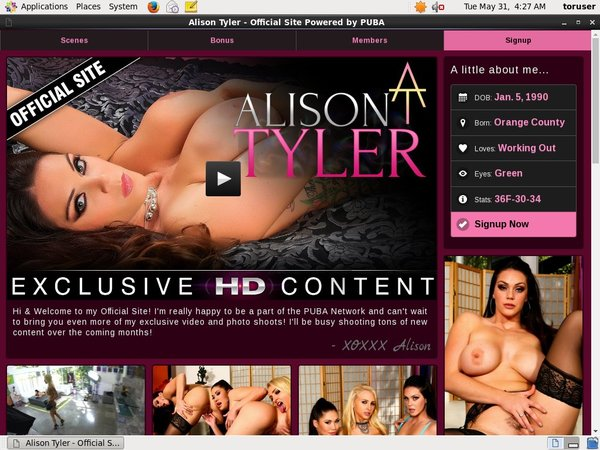 Alisontyler Deal