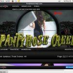 Panty Hose Creep With Maestro Card