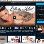 Free Logins For Christy Mack