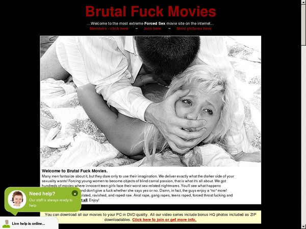 Brutal Fuck Movies Accounts Passwords