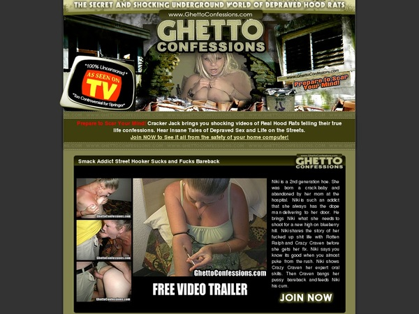 Ghettoconfessions Free Account