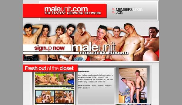 Maleunit Discreet