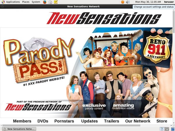 Parodypass.com Working Accounts