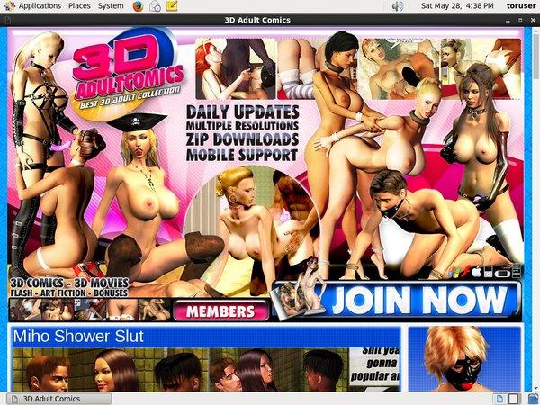 Passwords 3dadultcomics.com Free