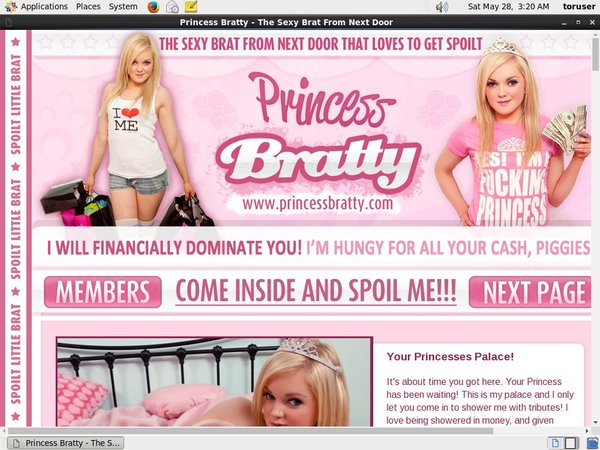 Passwords Princess Bratty