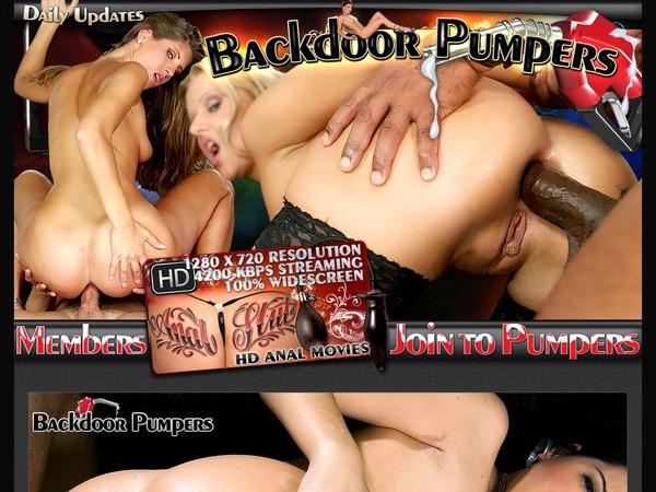 Accounts To Backdoorpumpers.com