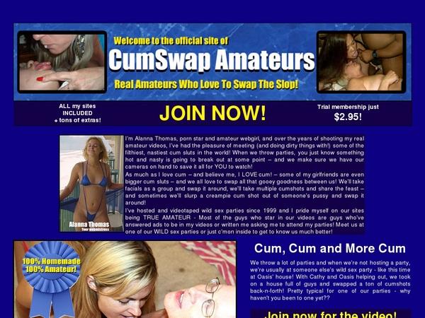 CumSwap Amateurs Member Account