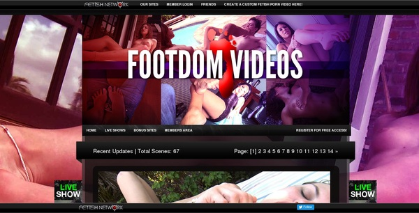 Foot Dom Videos Membership Free