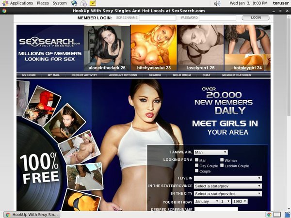 Free Account To Sexsearch