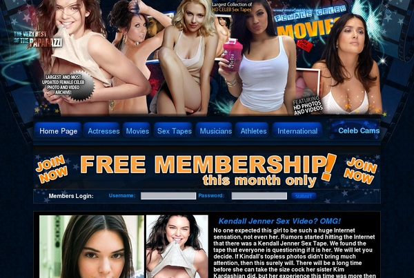Free Femalestars.com Membership
