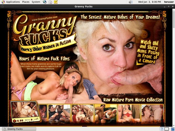 Free Granny Fucks Account New
