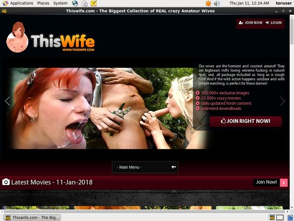 Free Login For Thiswife.com