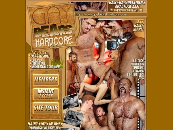 Gaybearshardcore.com Premium Acc
