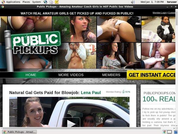Publicpickups.com Passwort
