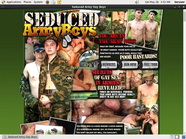 Seduced Army Boys Discount
