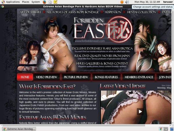 Free Forbidden East Asian Erotica