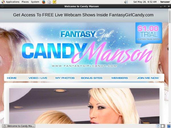 Free Pass Candy Manson