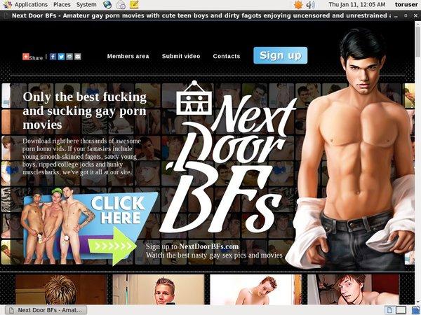 Nextdoorbfs.com Renew Subscription