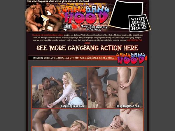 Gangbanghood.com Accounts Passwords