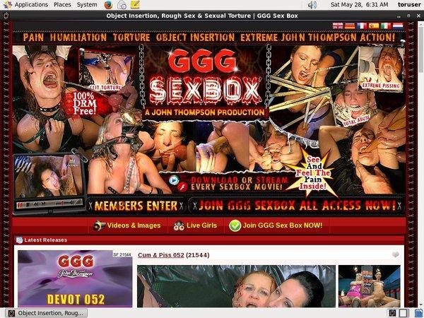 Gggsexbox.com Upcoming