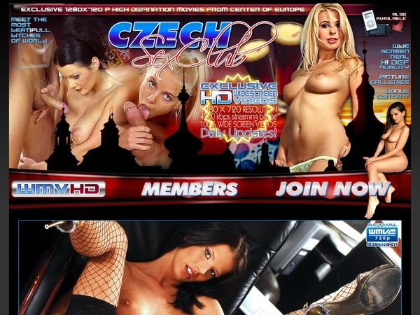 Account Czechsexclub.com