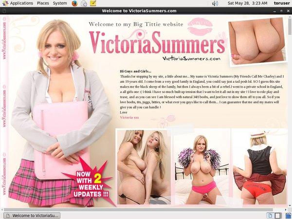 Victoriasummers.com Porn Account