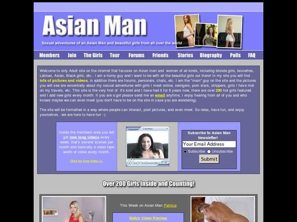 Asian Man Discreet Billing