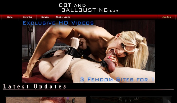 Cbtandballbusting Account Login