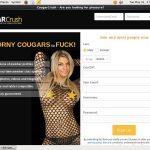 Cougar Crush Account 2014