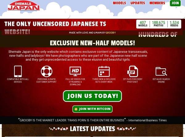 Premium Shemale Japan Password
