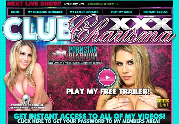 Club Charisma XXX Promotion