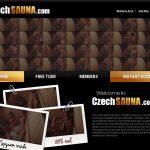 Czech Sauna Promotion