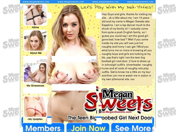 Free Pass For Megan Sweets