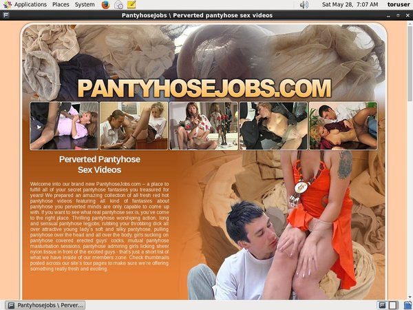 Pantyhose Jobs Join With Phone