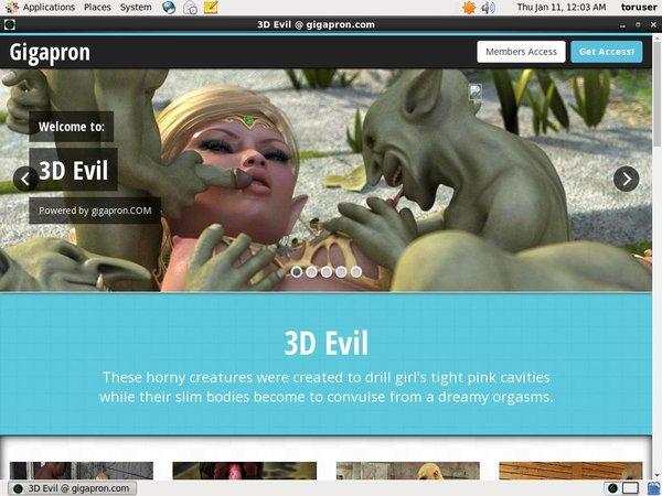 Gratis 3D Evil