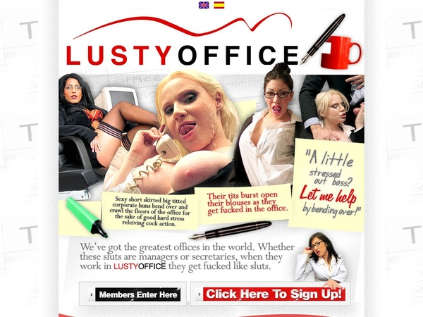 Lustyoffice With Master Card