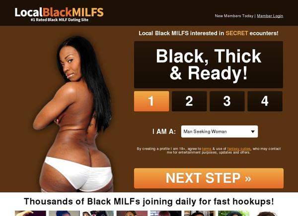 Get Local Black Milfs Account