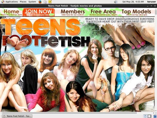 Premium Teensfootfetish.com Pass